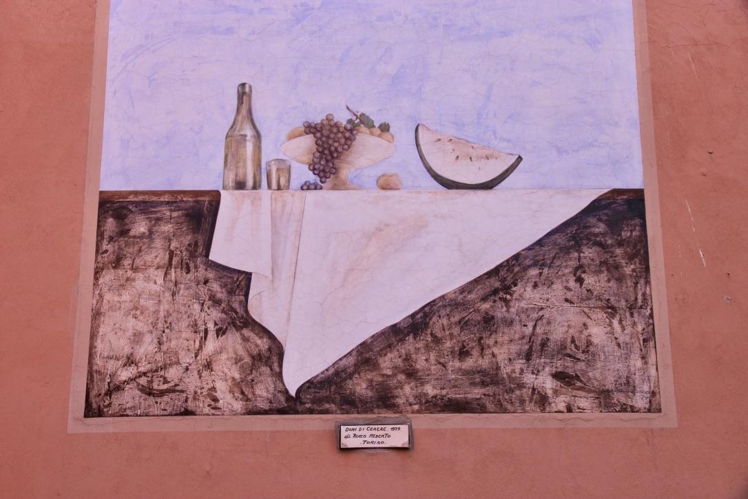 Dozza, murales