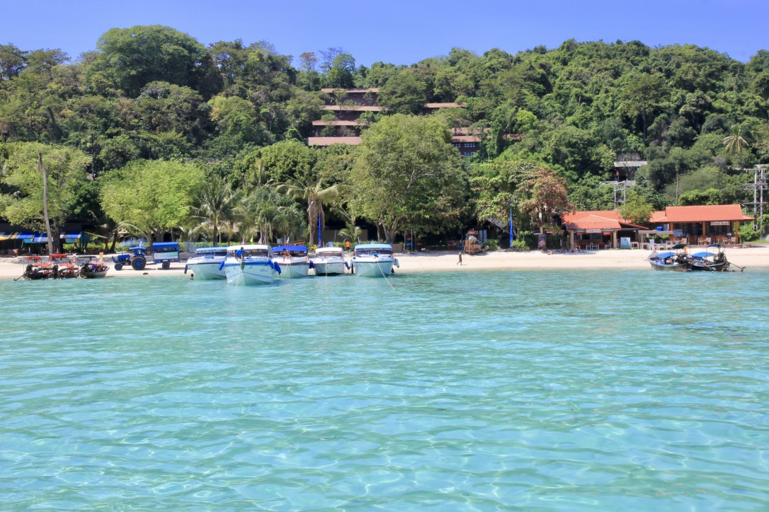 Phi Phi Island acqua