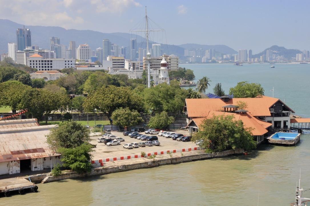 Porto di Penang, Malesia
