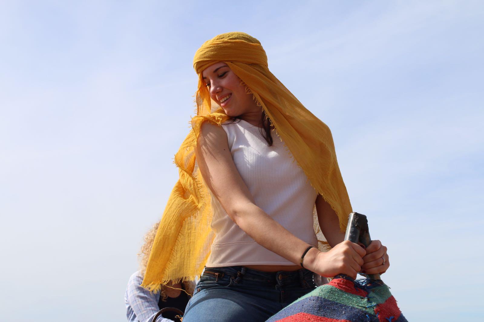 Sul cammello in Marocco