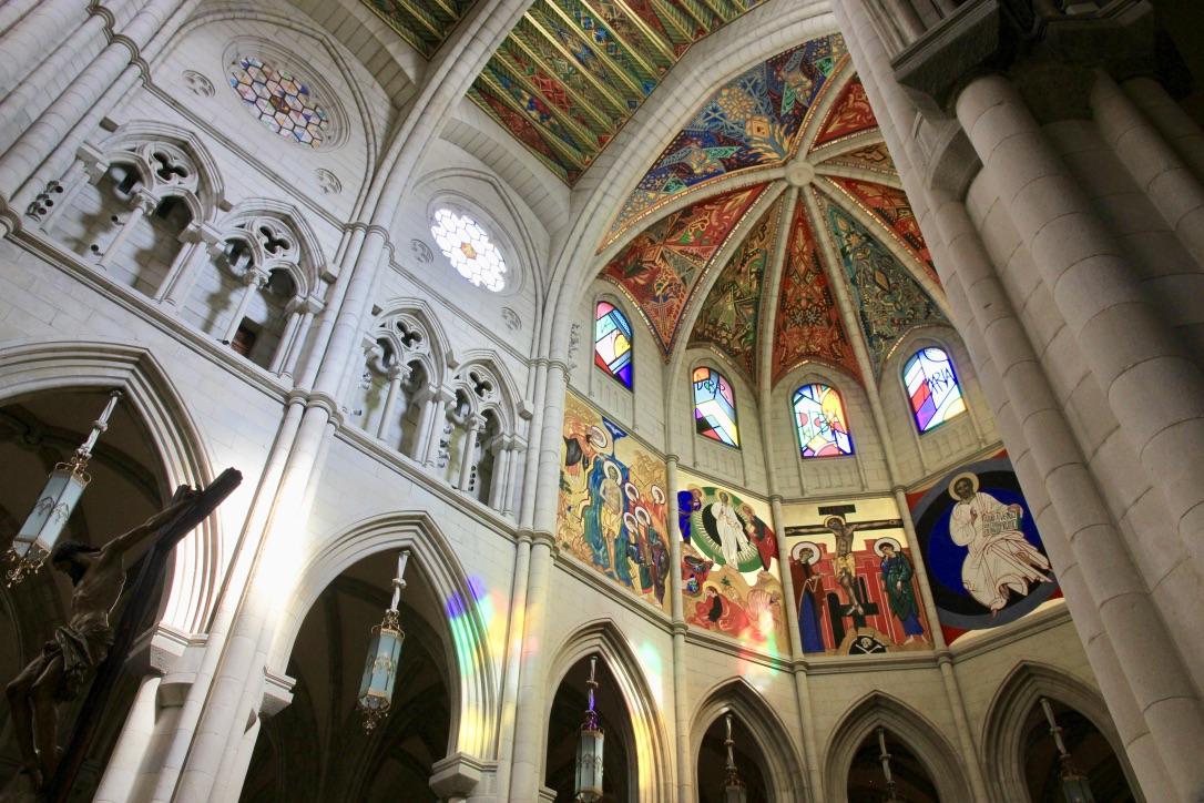 Catedral de la Almudena di Madrid