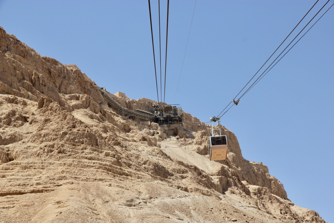 Funivia, fortezza di Masada