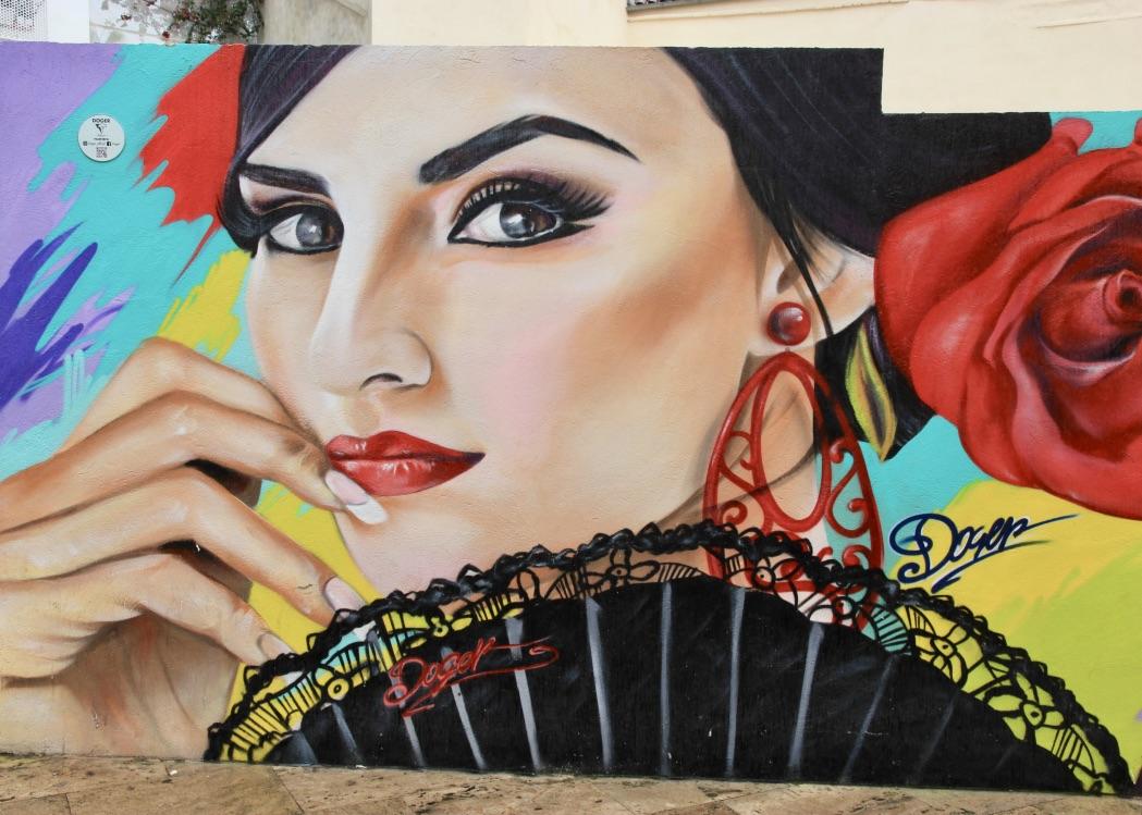 I murales di Málaga