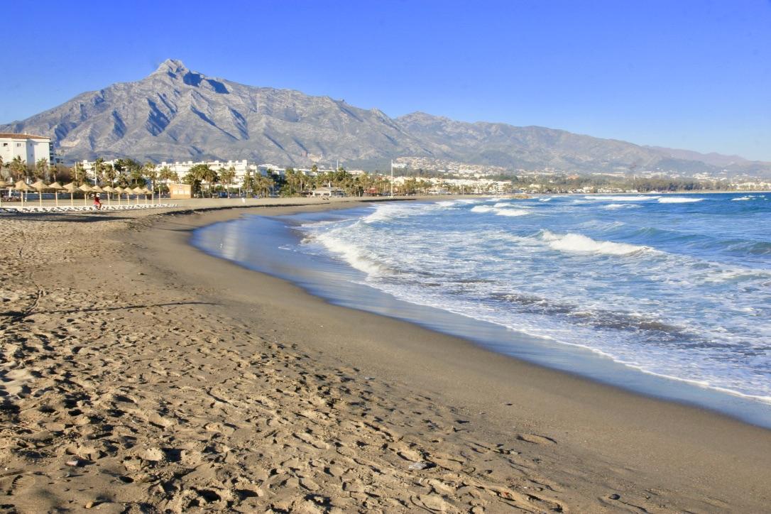 La spiaggia di Málaga