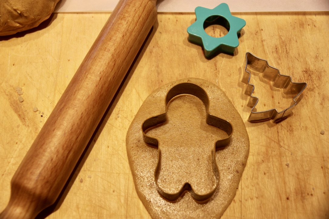 Biscotti natalizi: gingerbread