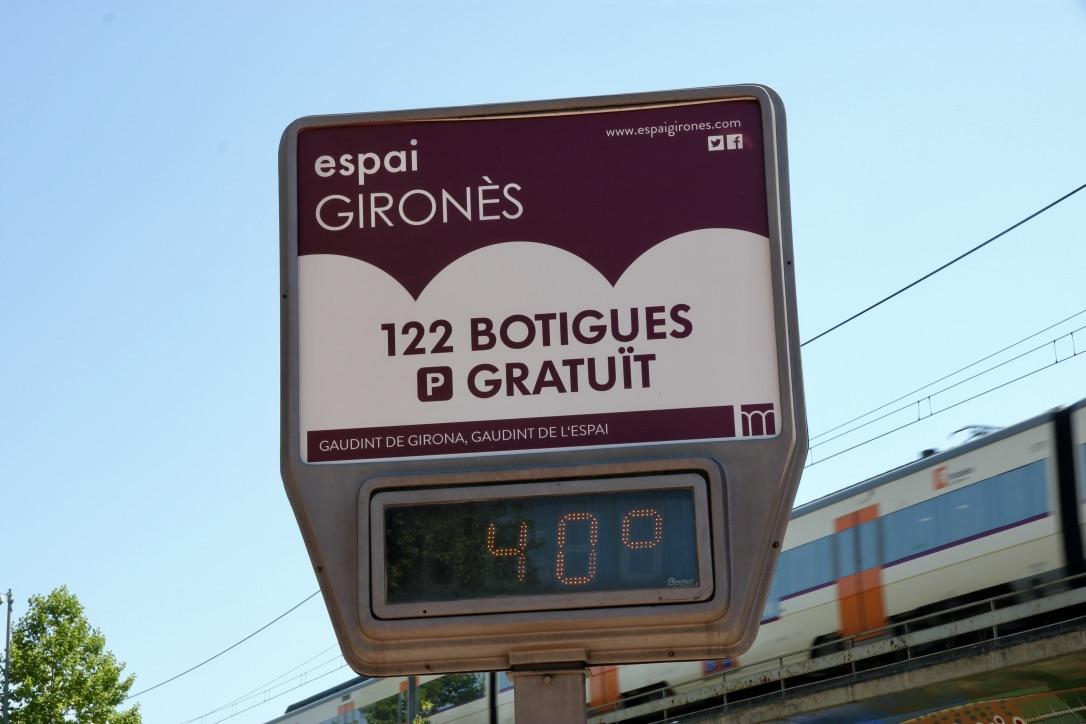 Caldo afoso in Spagna