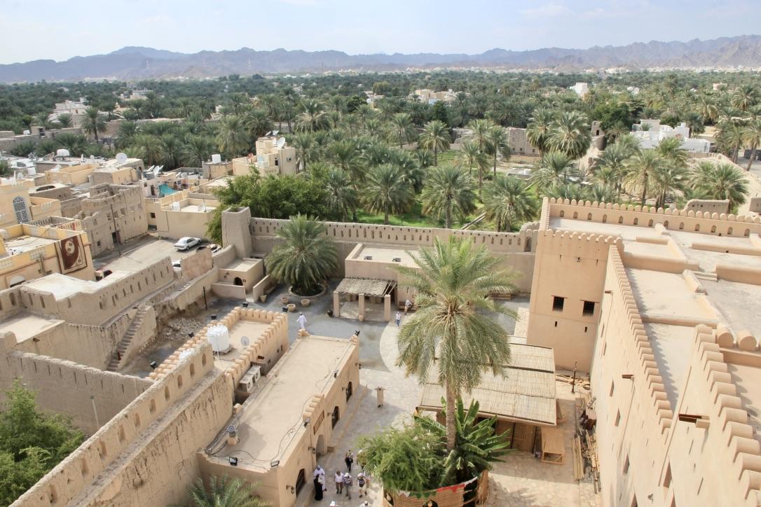 Viaggio in Oman, la fortezza di Nizwa