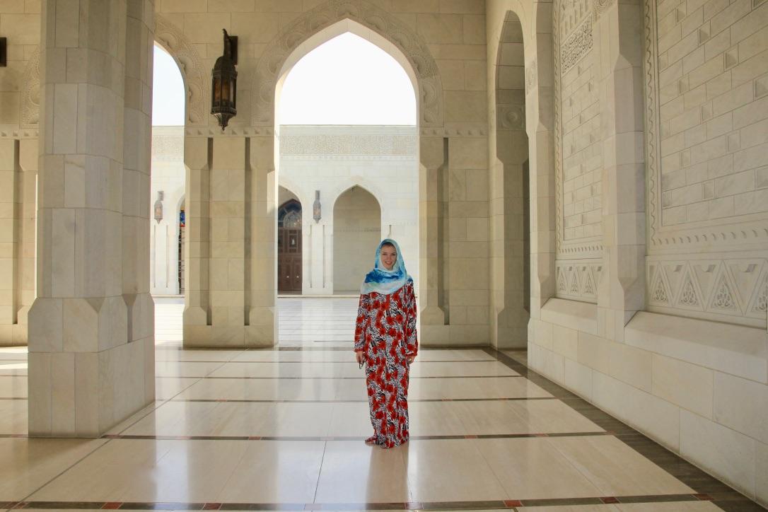 Moschea in Oman, come vestirsi