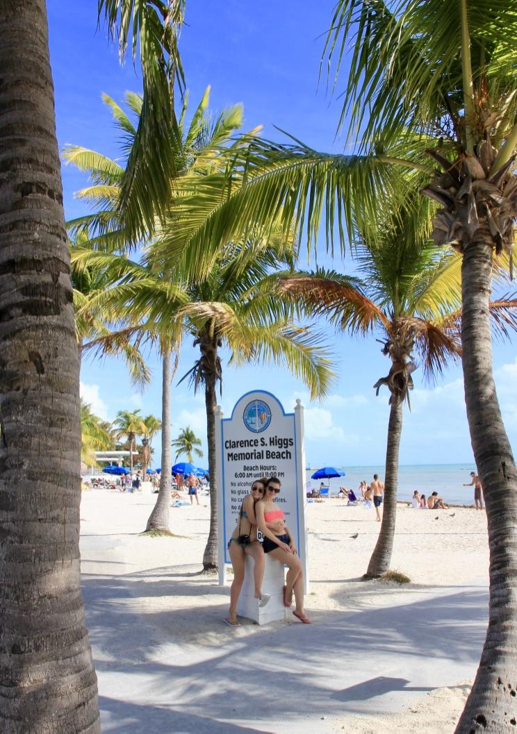 Spiaggia a Key West