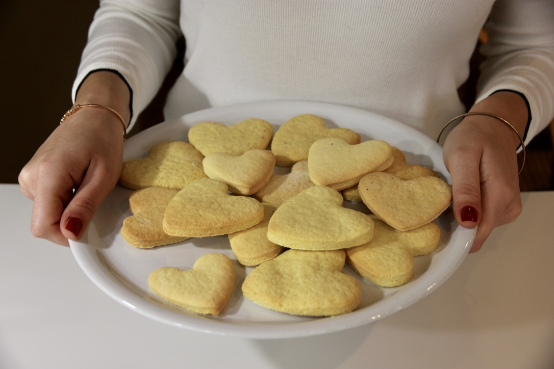Biscotti senza burro San Valentino