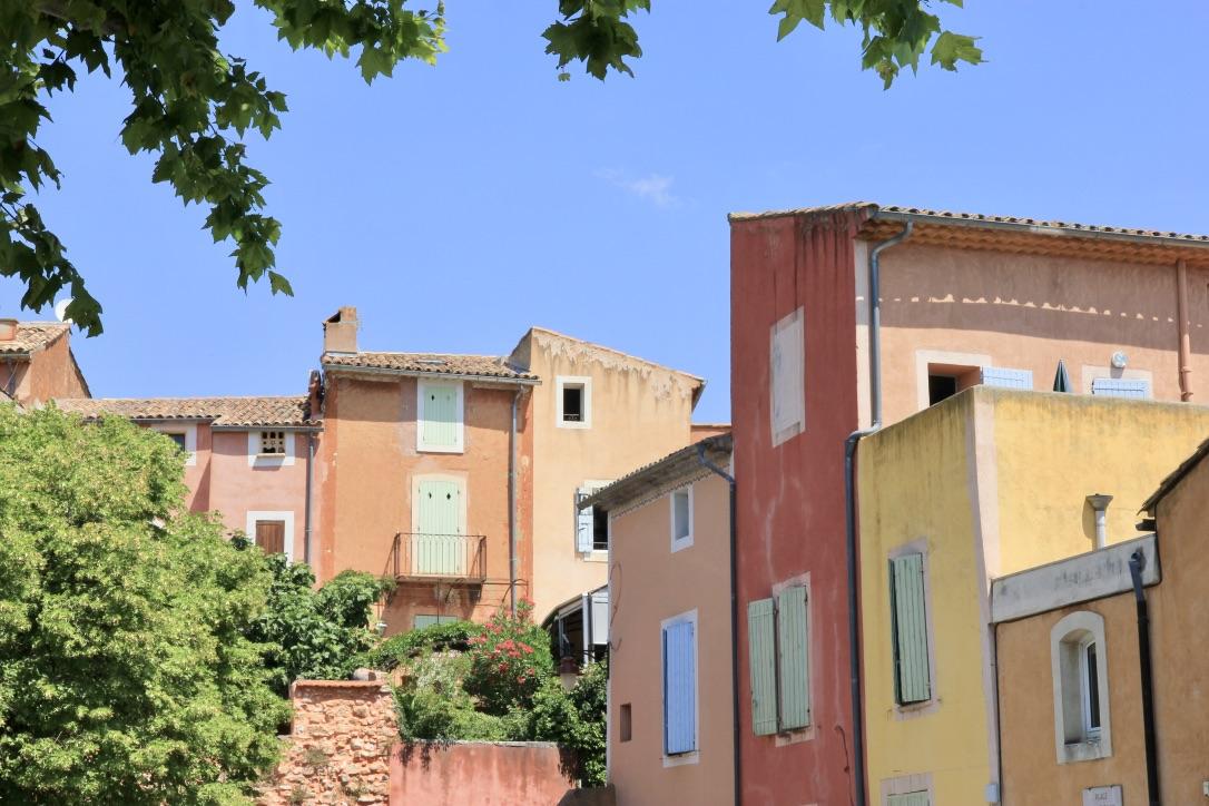 Roussillon, borgo in Provenza