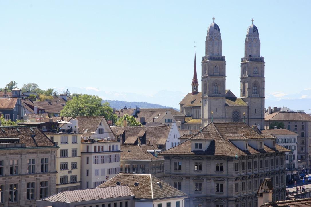Grossmünster, Zurigo