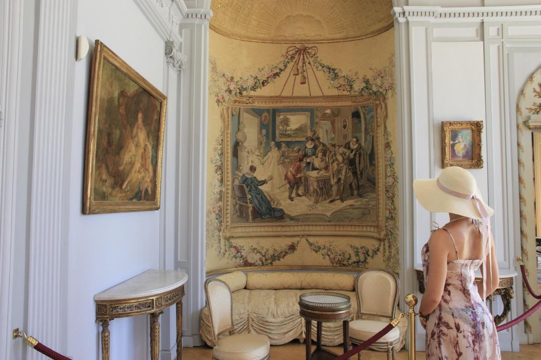 Interno Villa Ephrussi