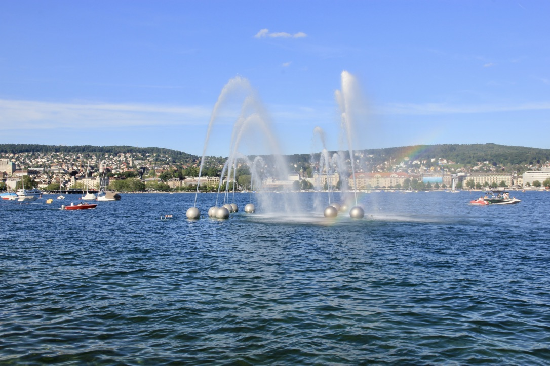 Fontana Lago di Zurigo