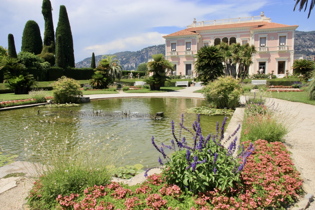 Giardini di Villa Ephrussi, Costa Azzurra