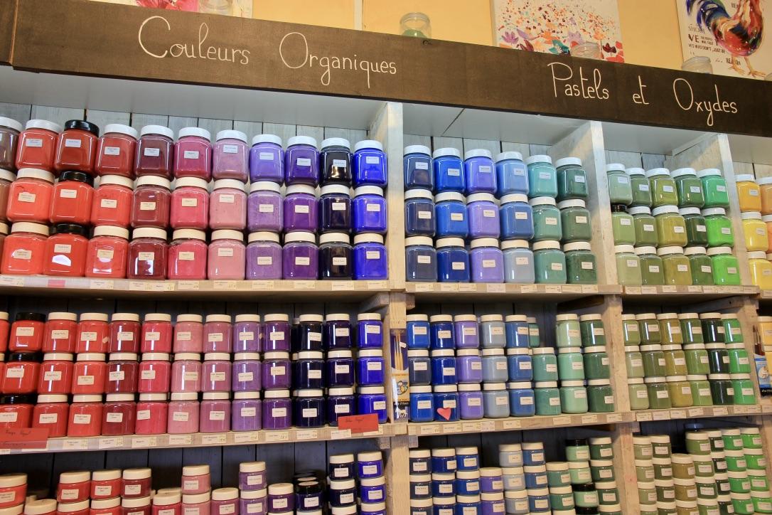 colori ocra