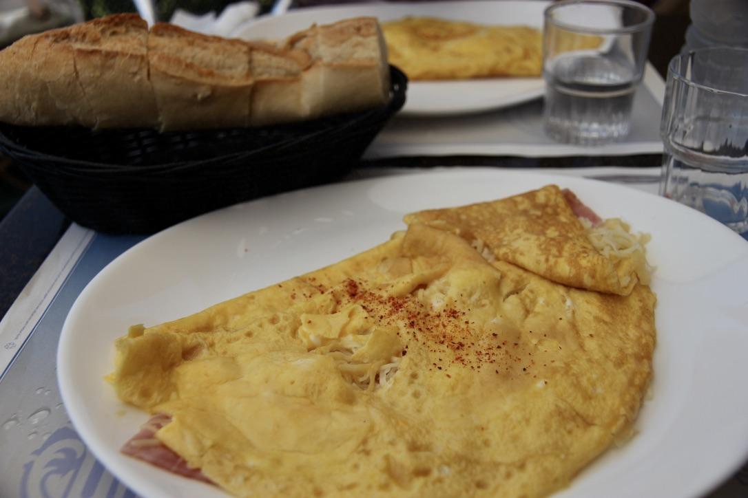 Omelette francesi
