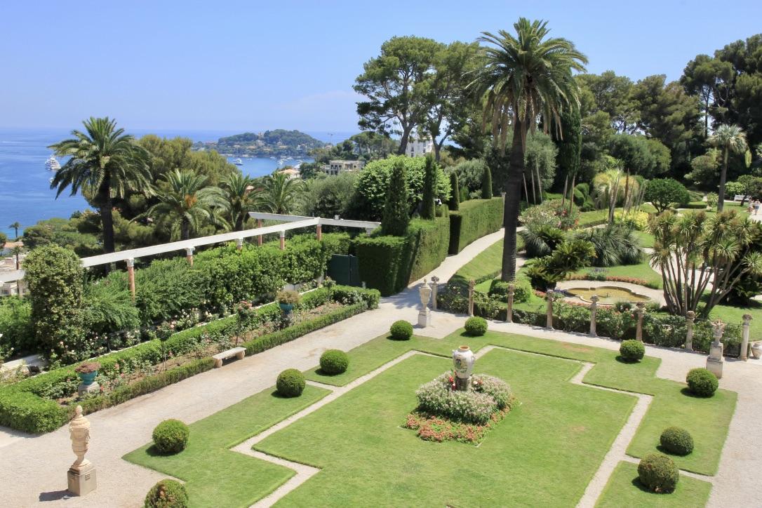 Villa Ephrussi, giardini
