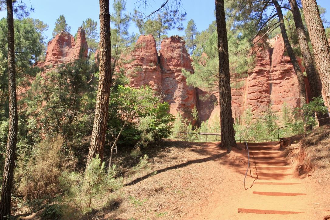 Sentiero dell'ocra, Roussillon