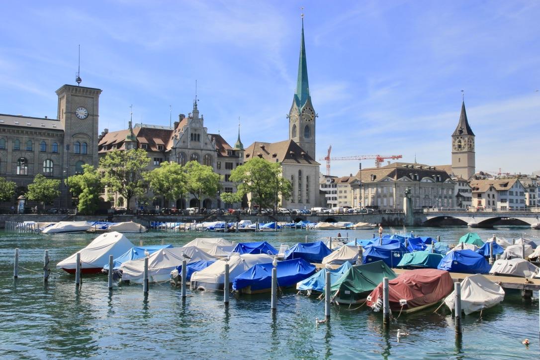 Zurigo fiume LImmat