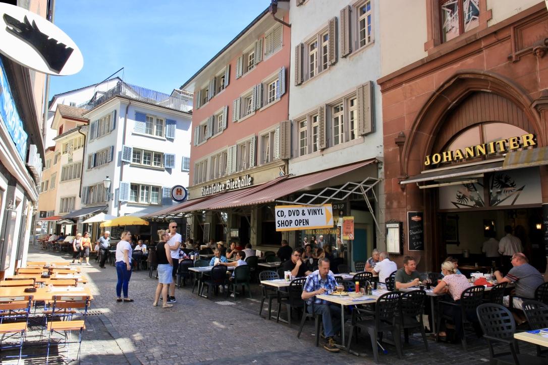 Zurigo, ristoranti