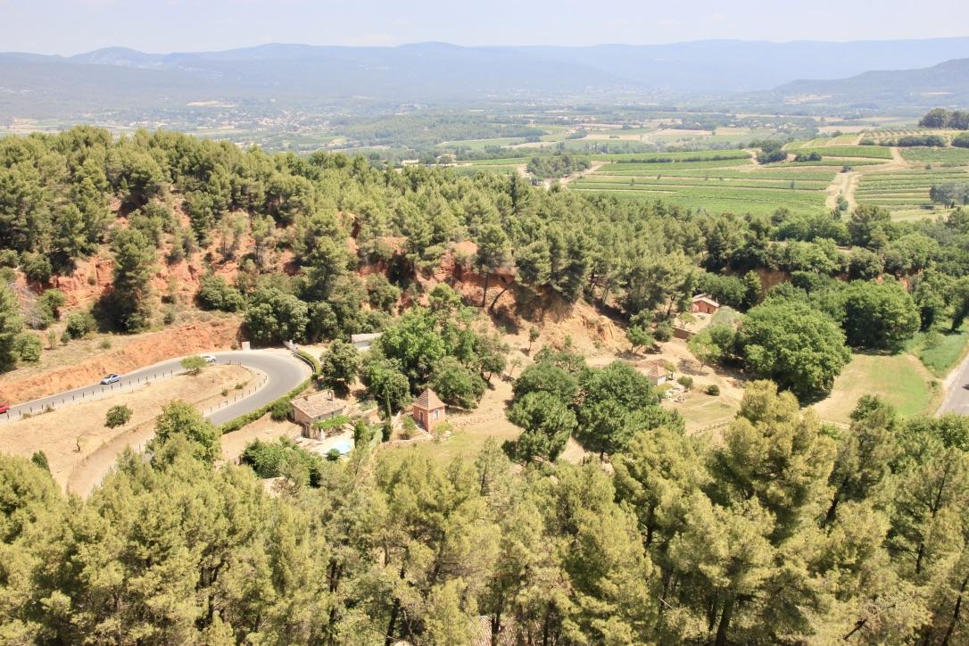 Roussillon, borgo in Francia