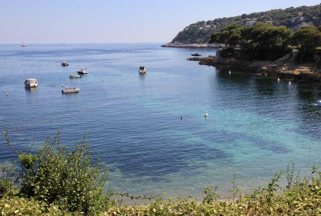 Cap Ferrat, spiaggia