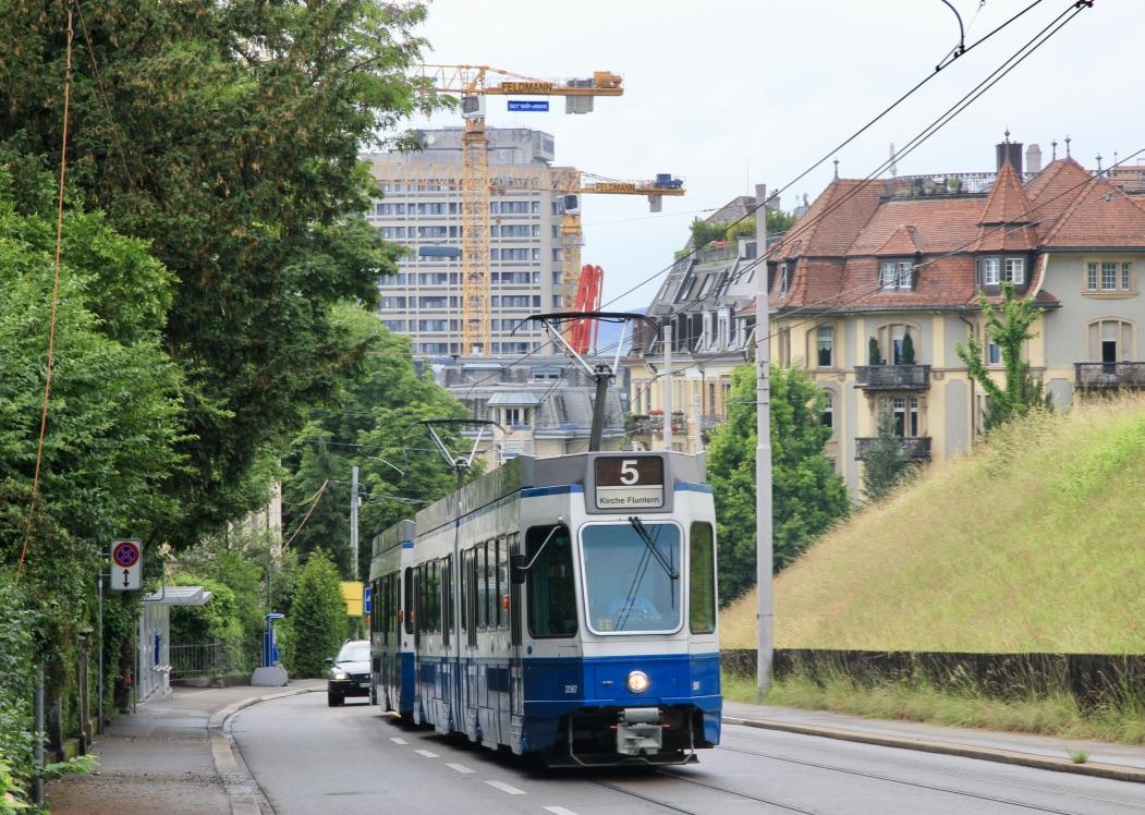 Tram a Zurigo