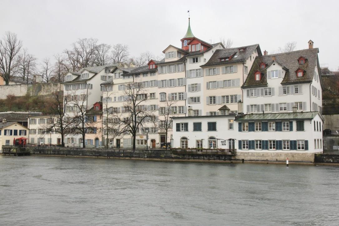 Zurigo in inverno