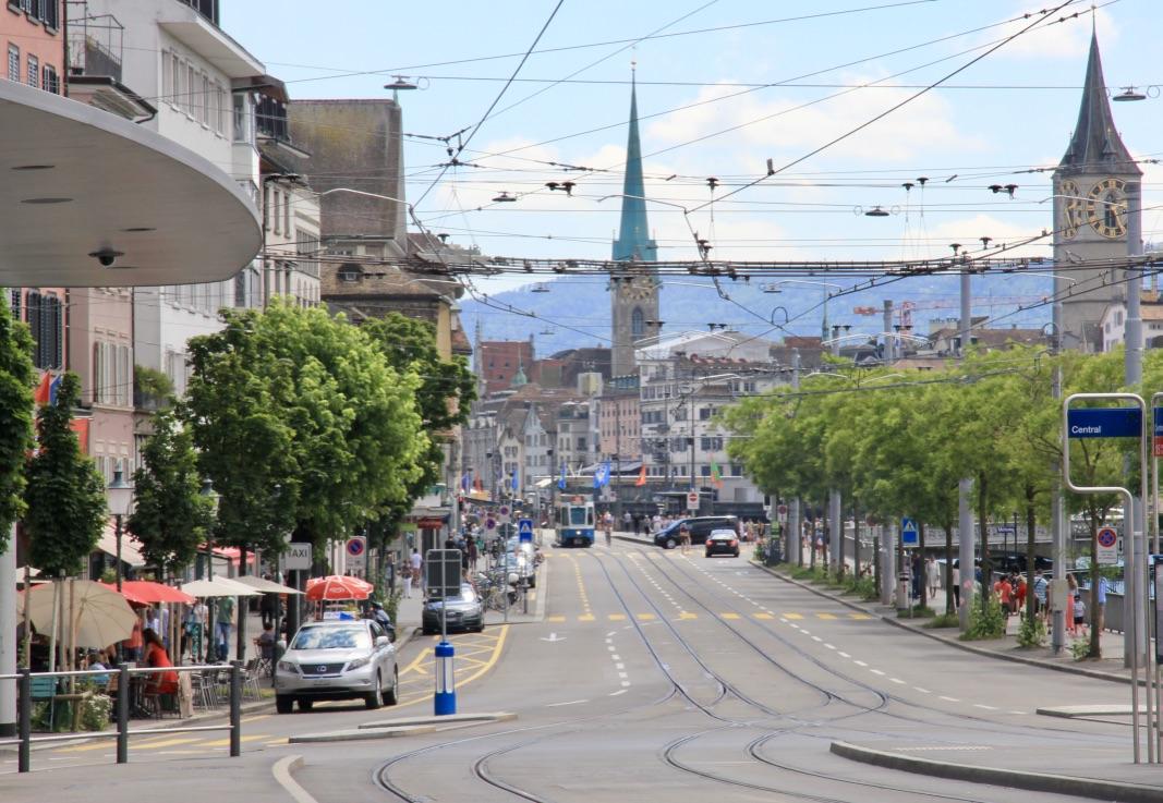 Centro città Zurigo