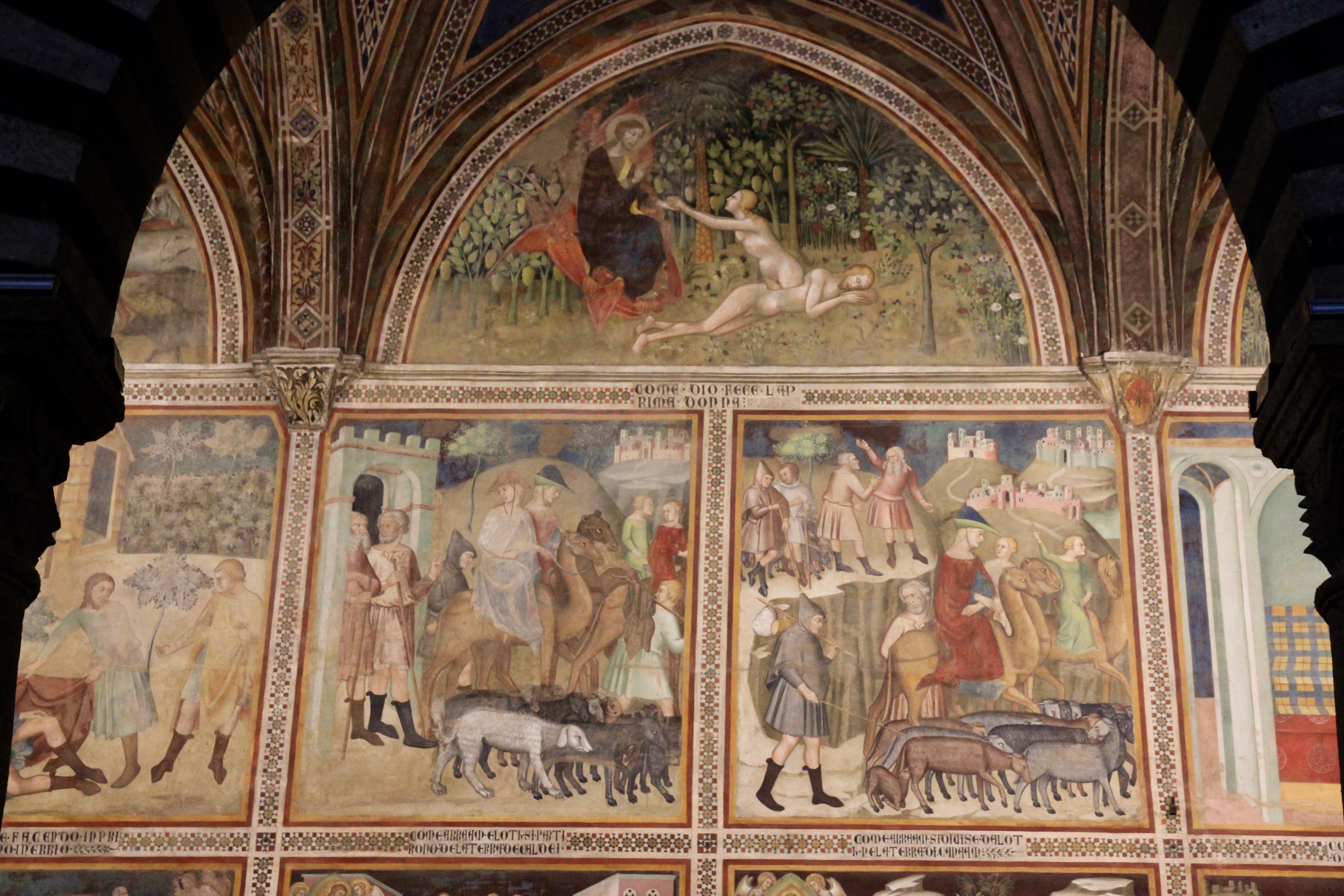 Affreschi del duomo di San Gimignano
