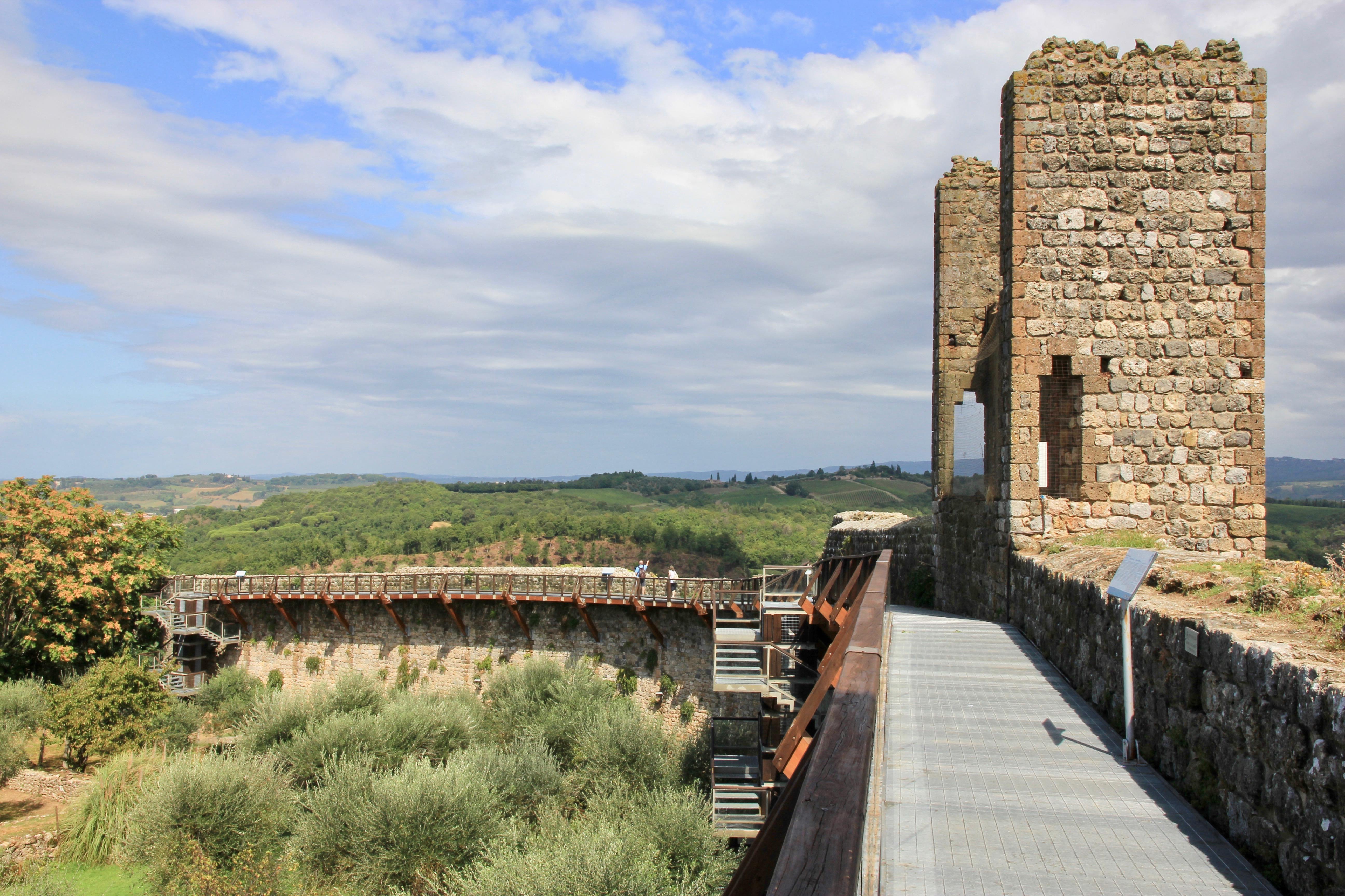 Camminamento sulle mura, Monteriggioni
