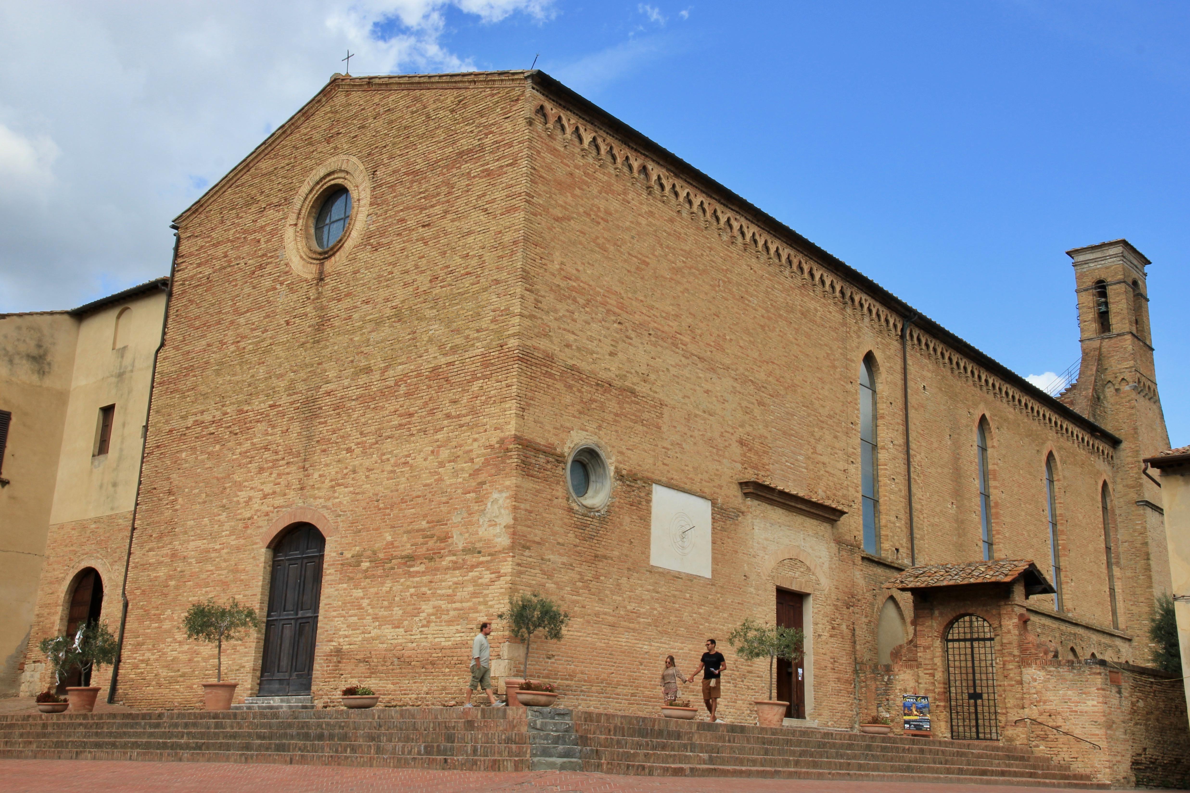 Sant'Agostino, San Gimignano