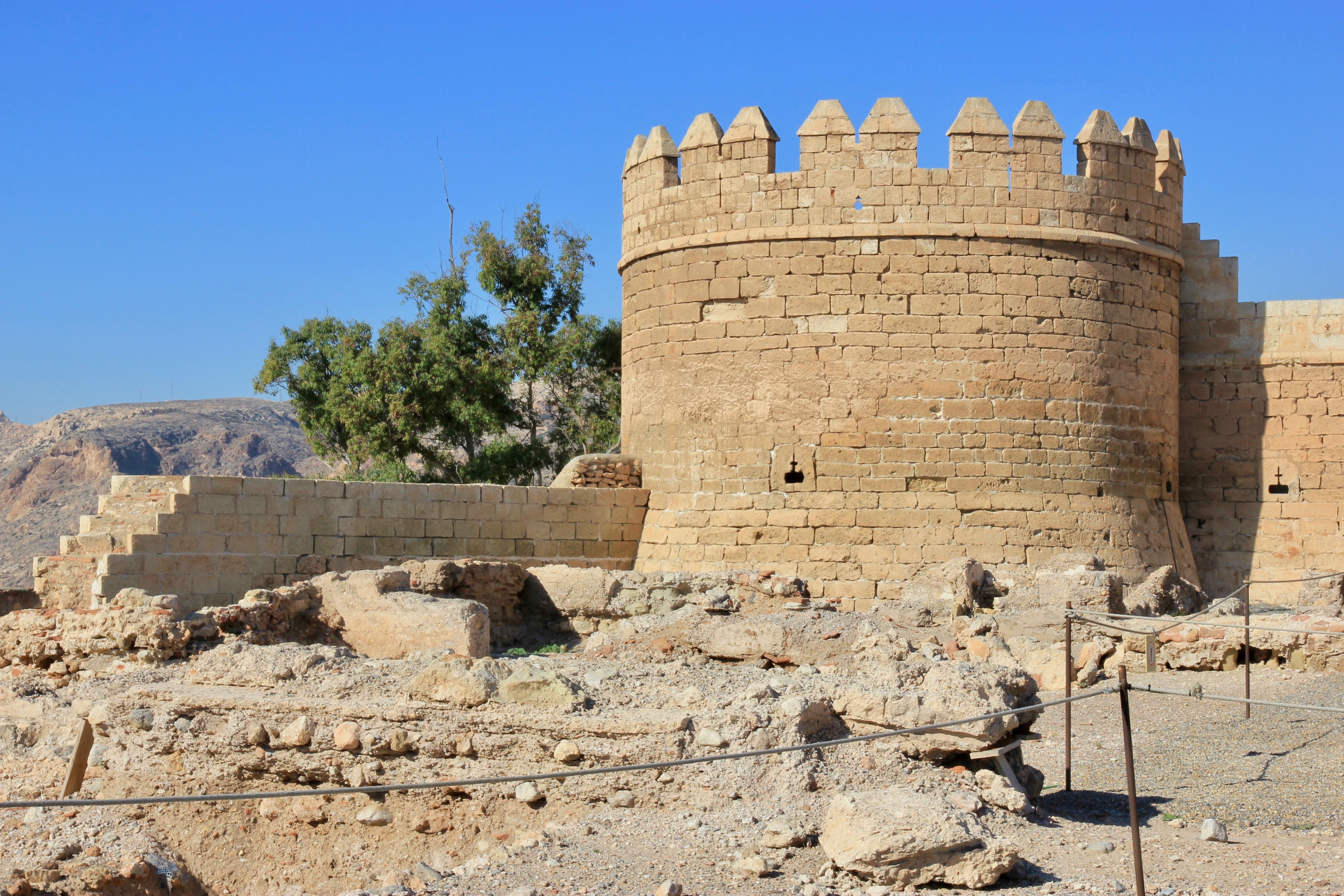 alcazaba di Almería, cosa vedere