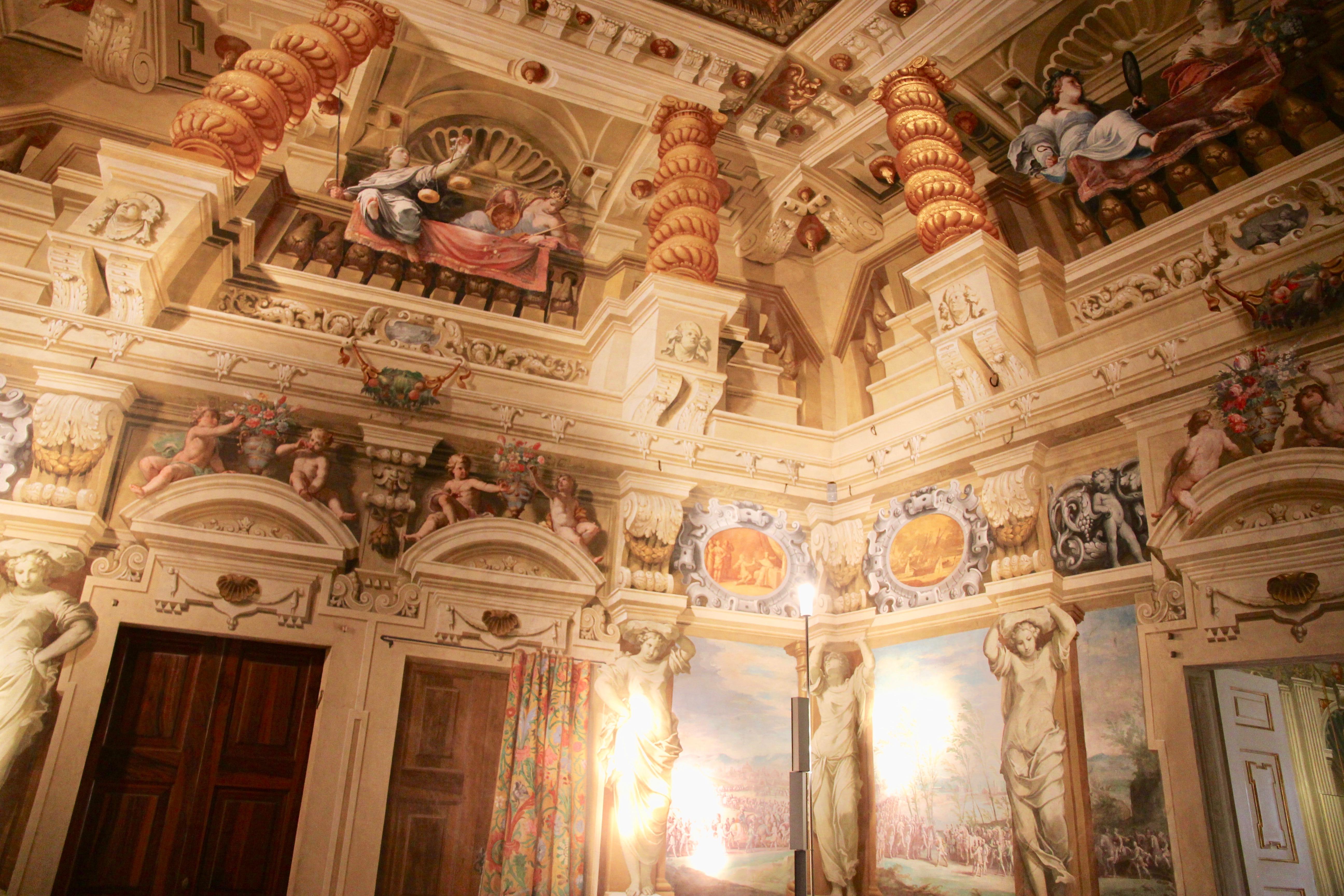 affreschi palazzo ducale di sassuolo