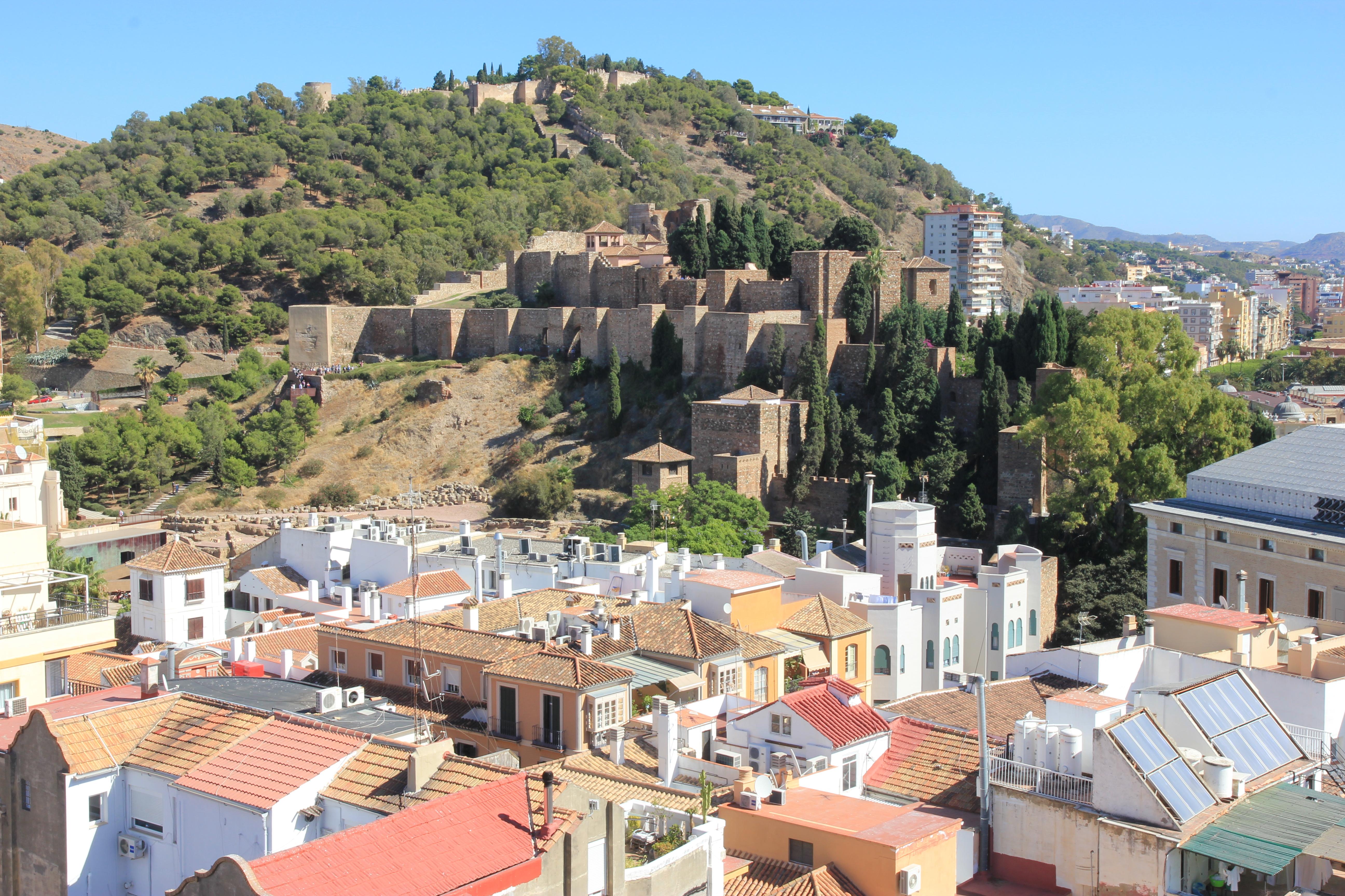 Alcazaba e Castillo di Málaga