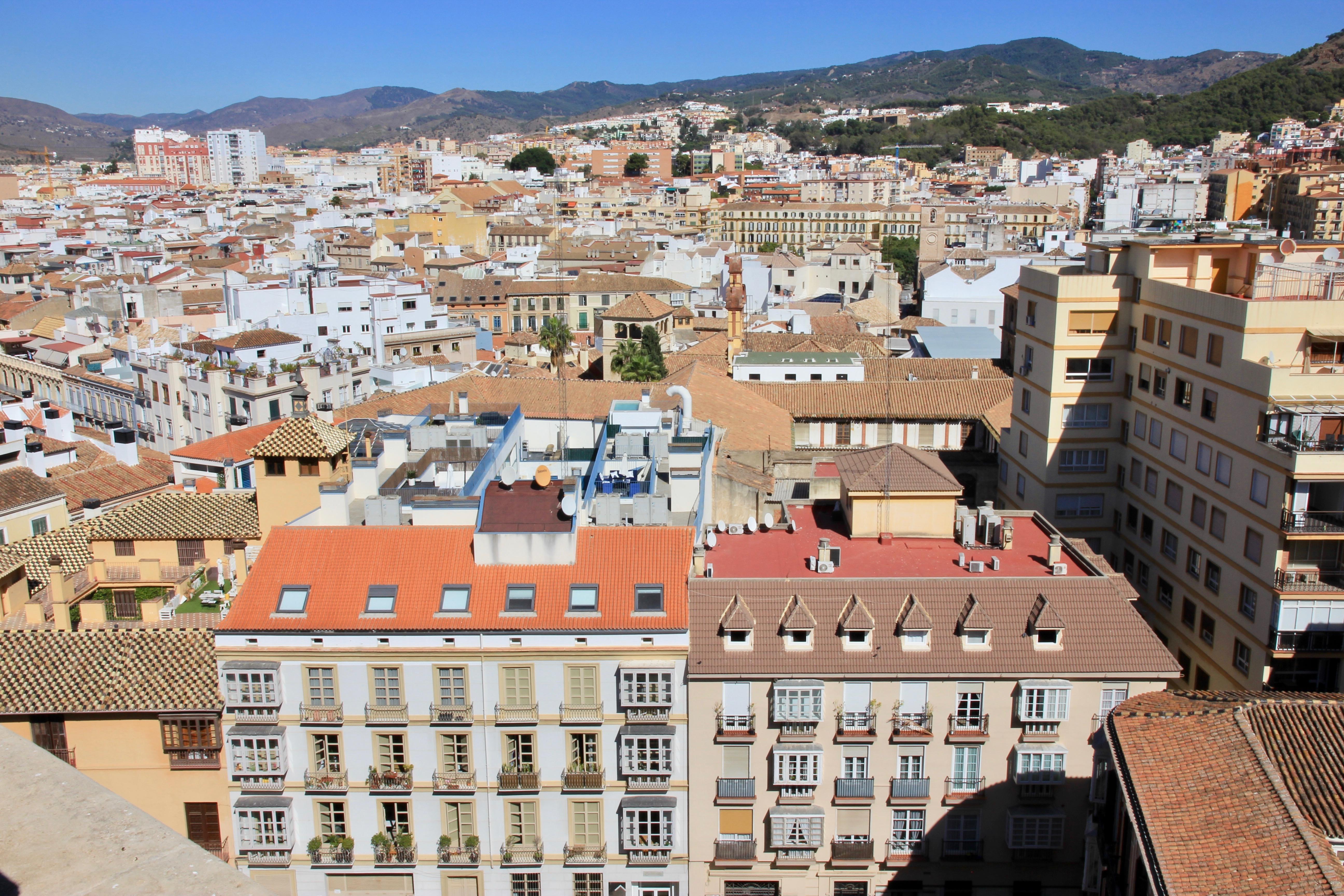 Cubiertas della cattedrale di Málaga