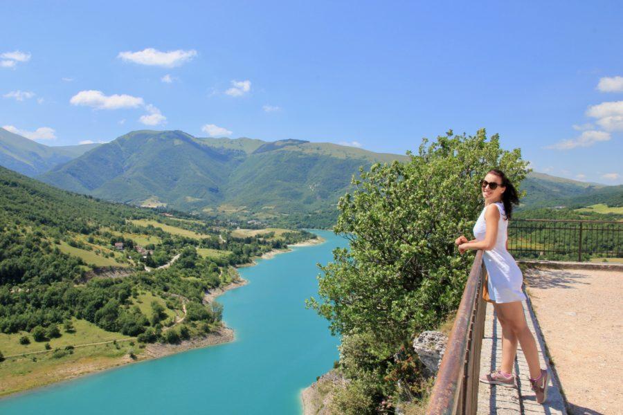 Lago di Fiastra, Marche