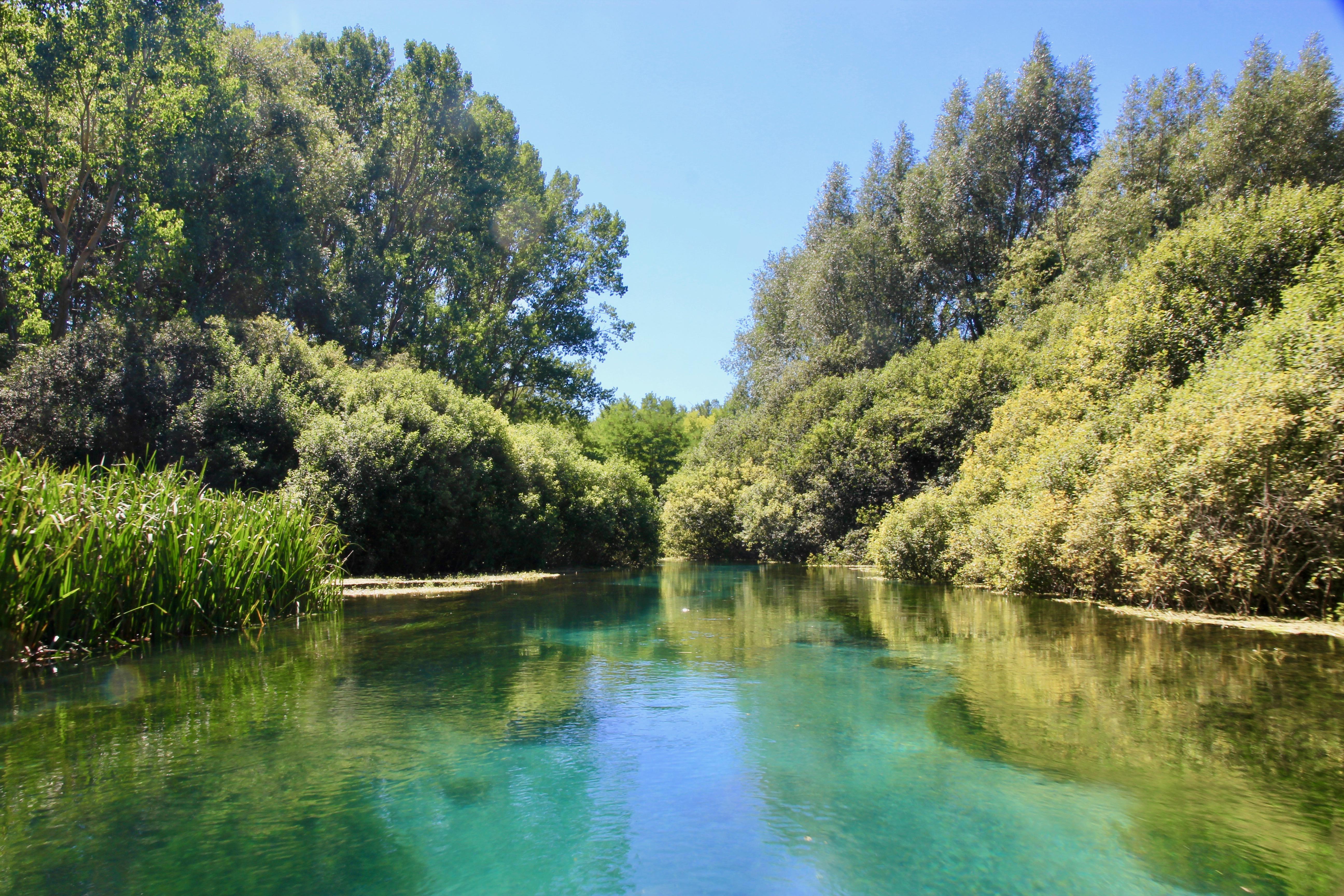 Il Bosso - escursione in canoa sul fiume Tirino