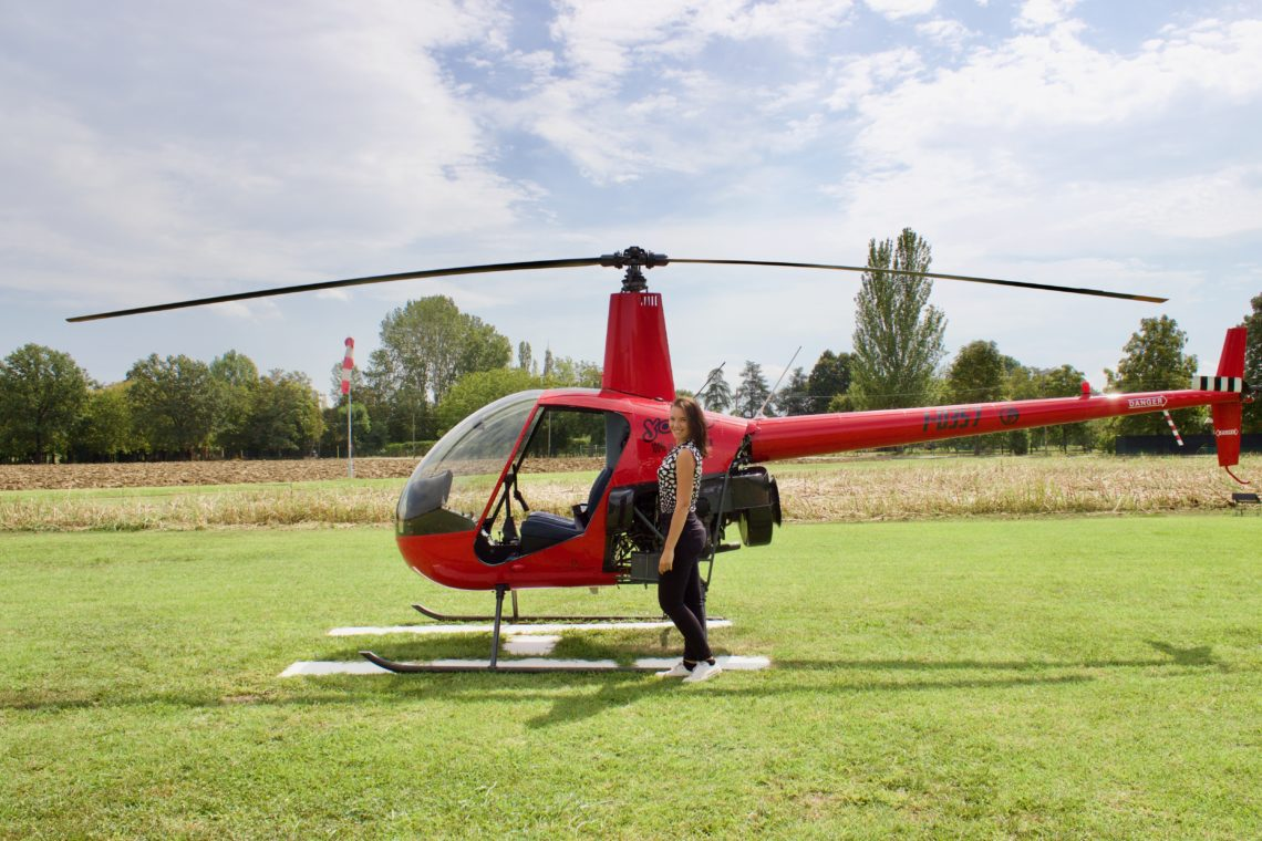 Tour in elicottero a Modena