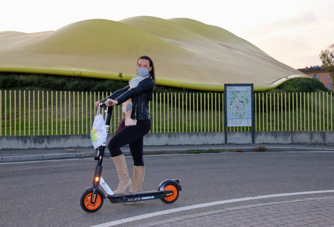 Scoprendo Modena con il monopattino elettrico