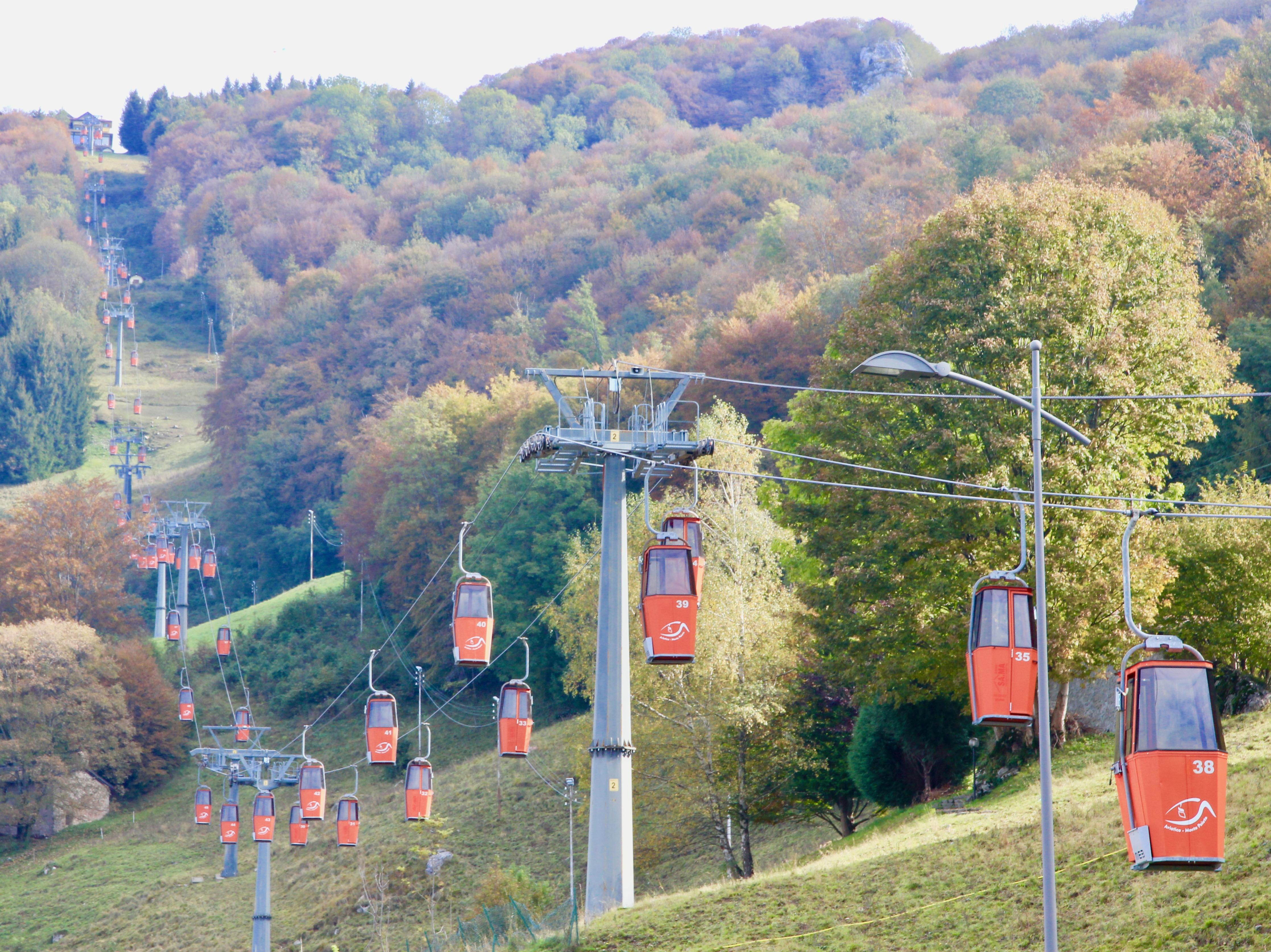Cabinovia Rifugio Monte Poieto