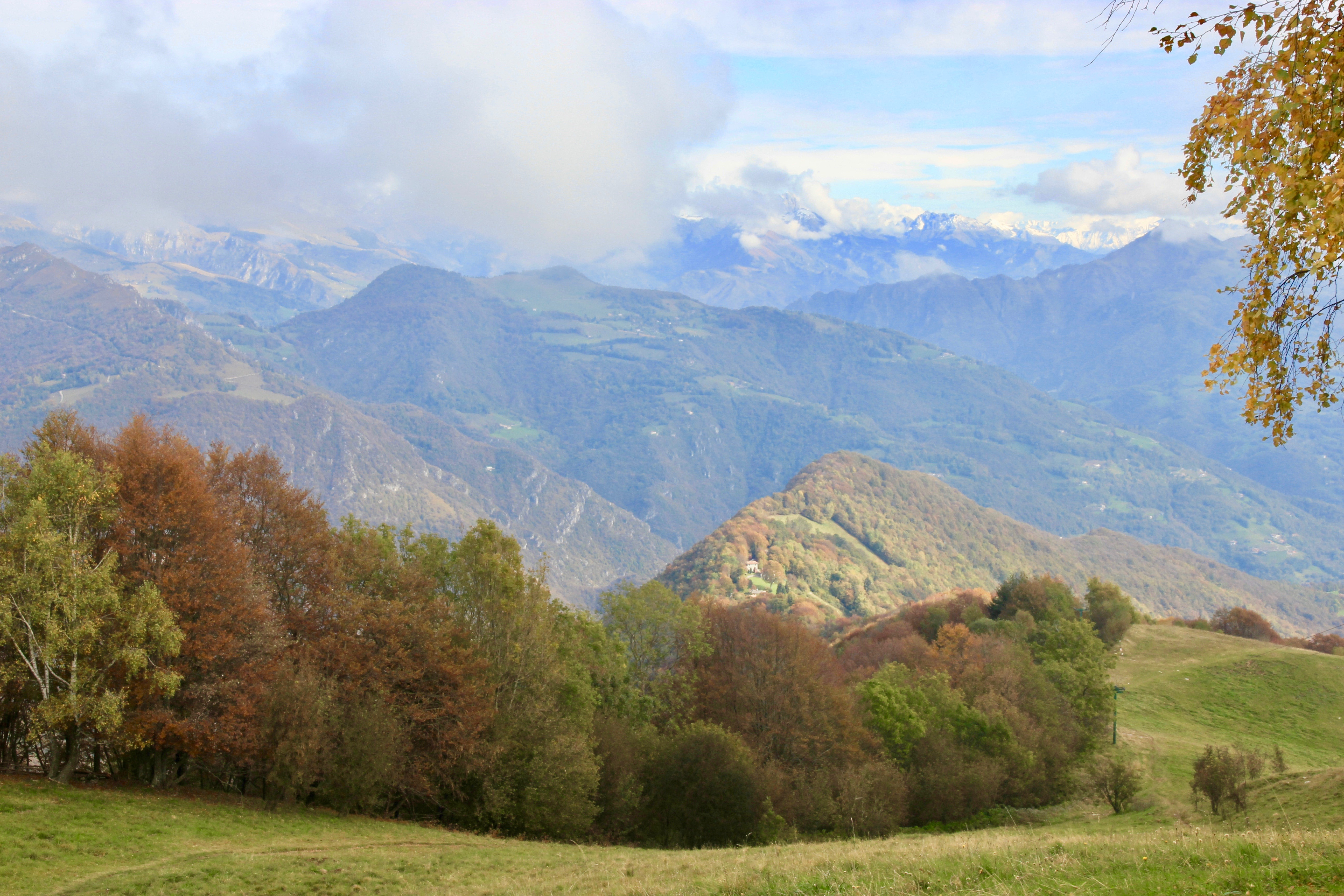 Rifugio Monte Poieto in autunno