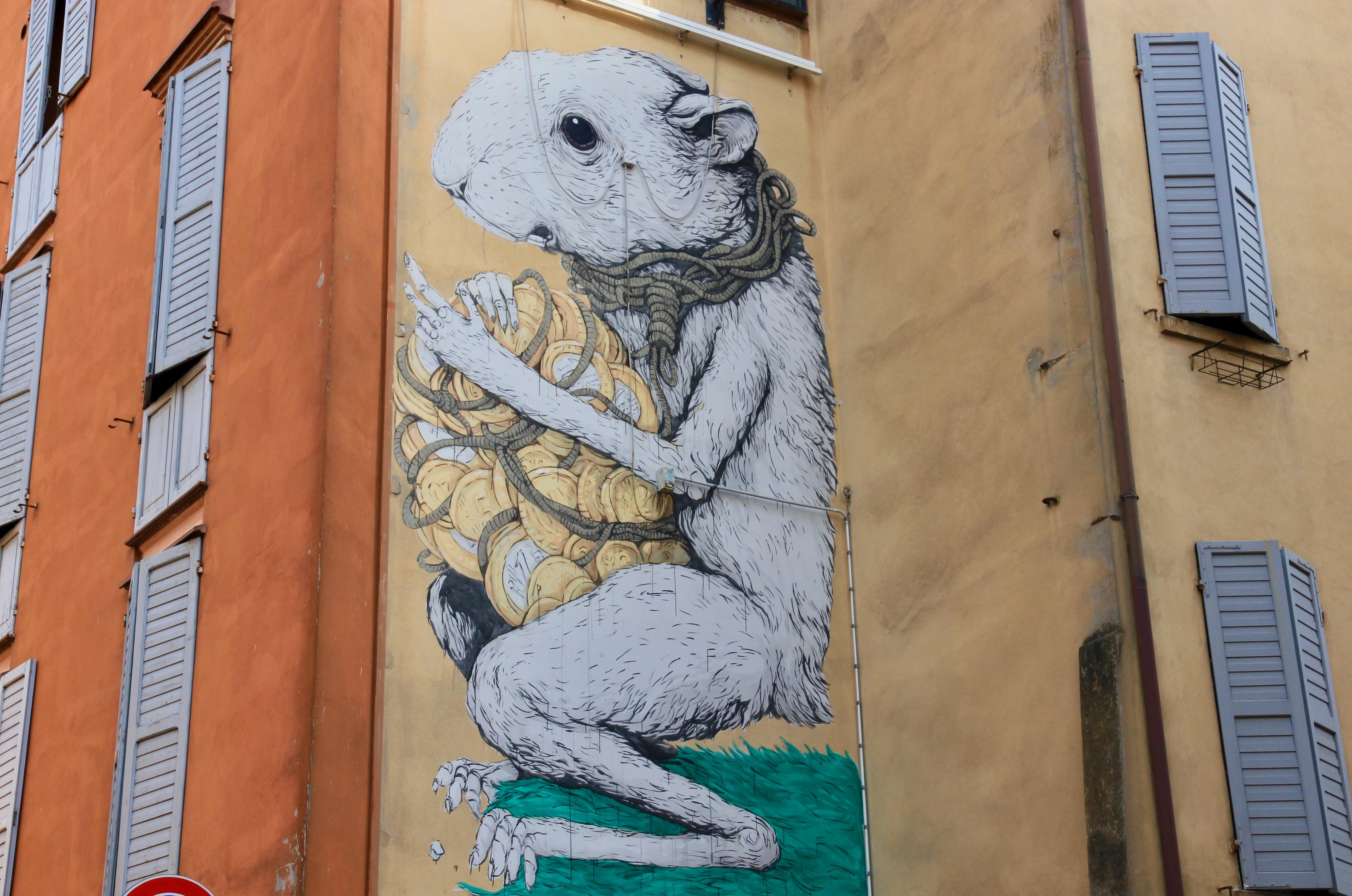 i murales di Modena
