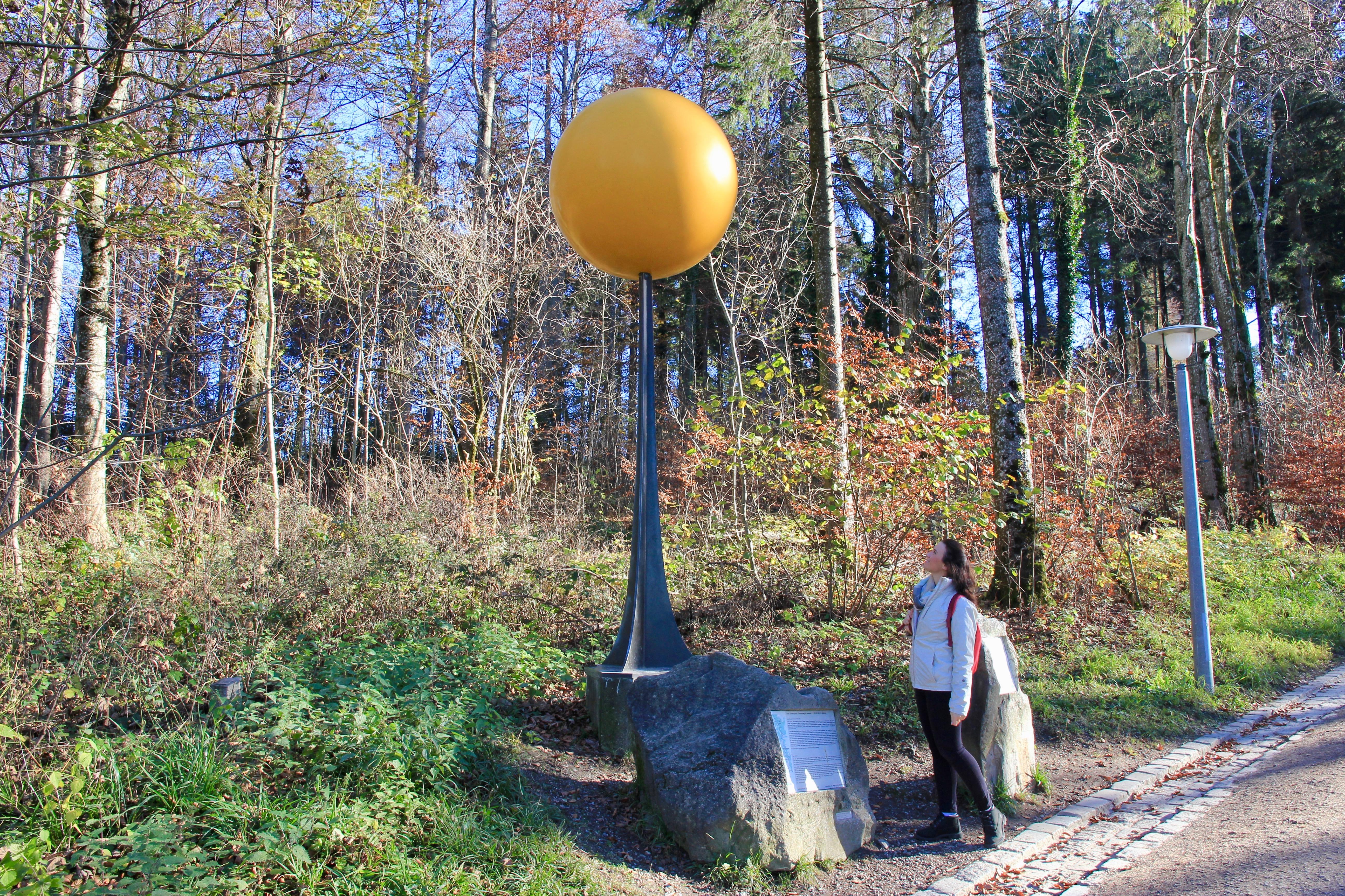Zurigo, la via dei pianeti