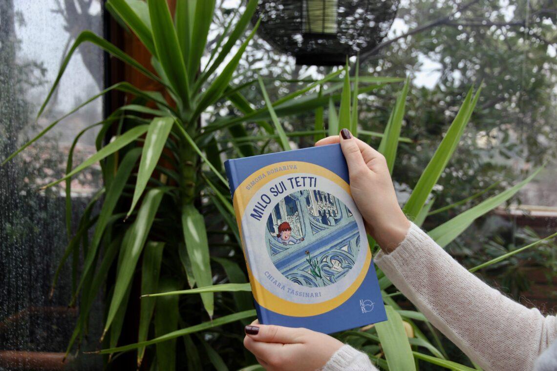 Libri per ragazzi: Milo sui tetti