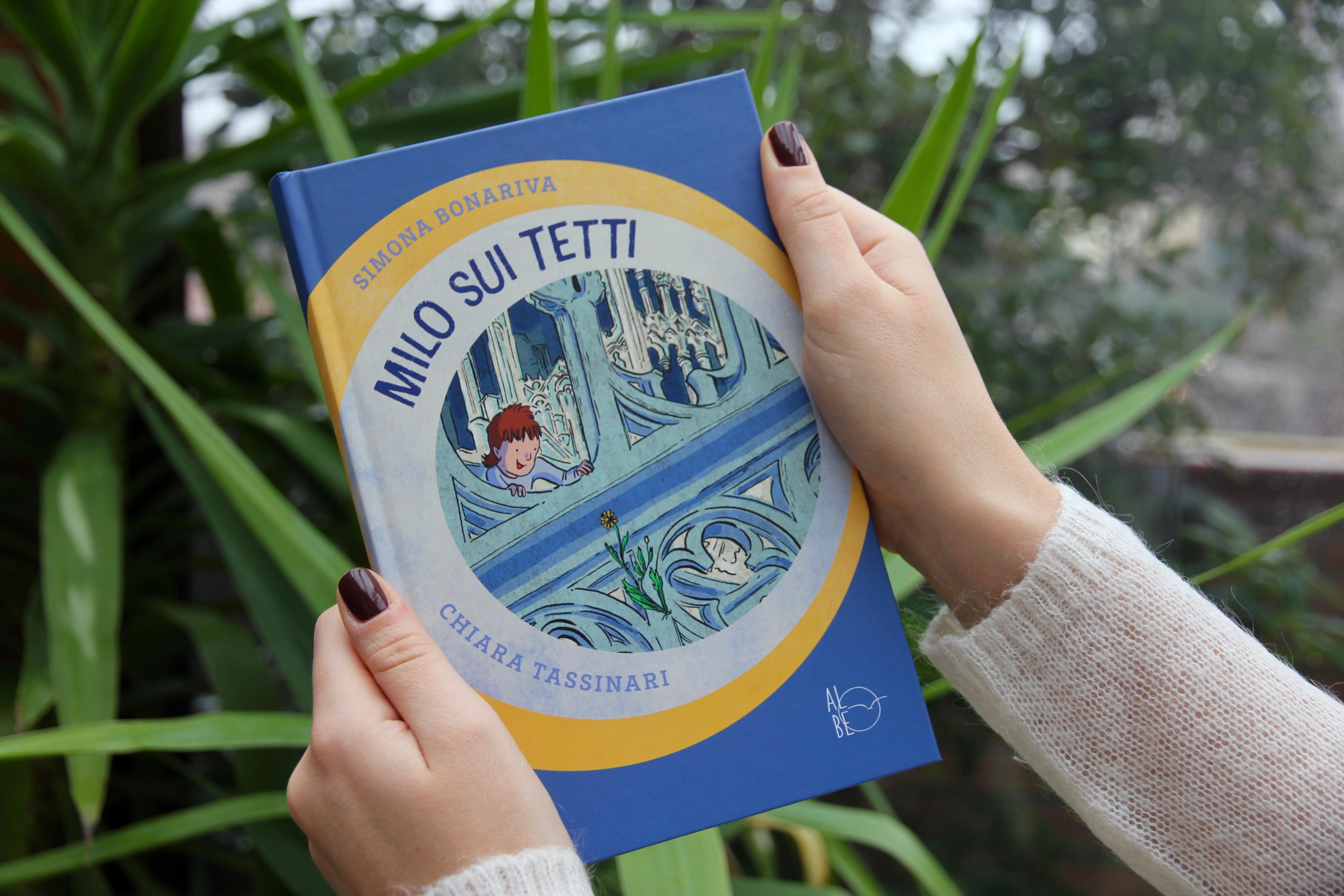 Libri per bambini: Milo sui tetti