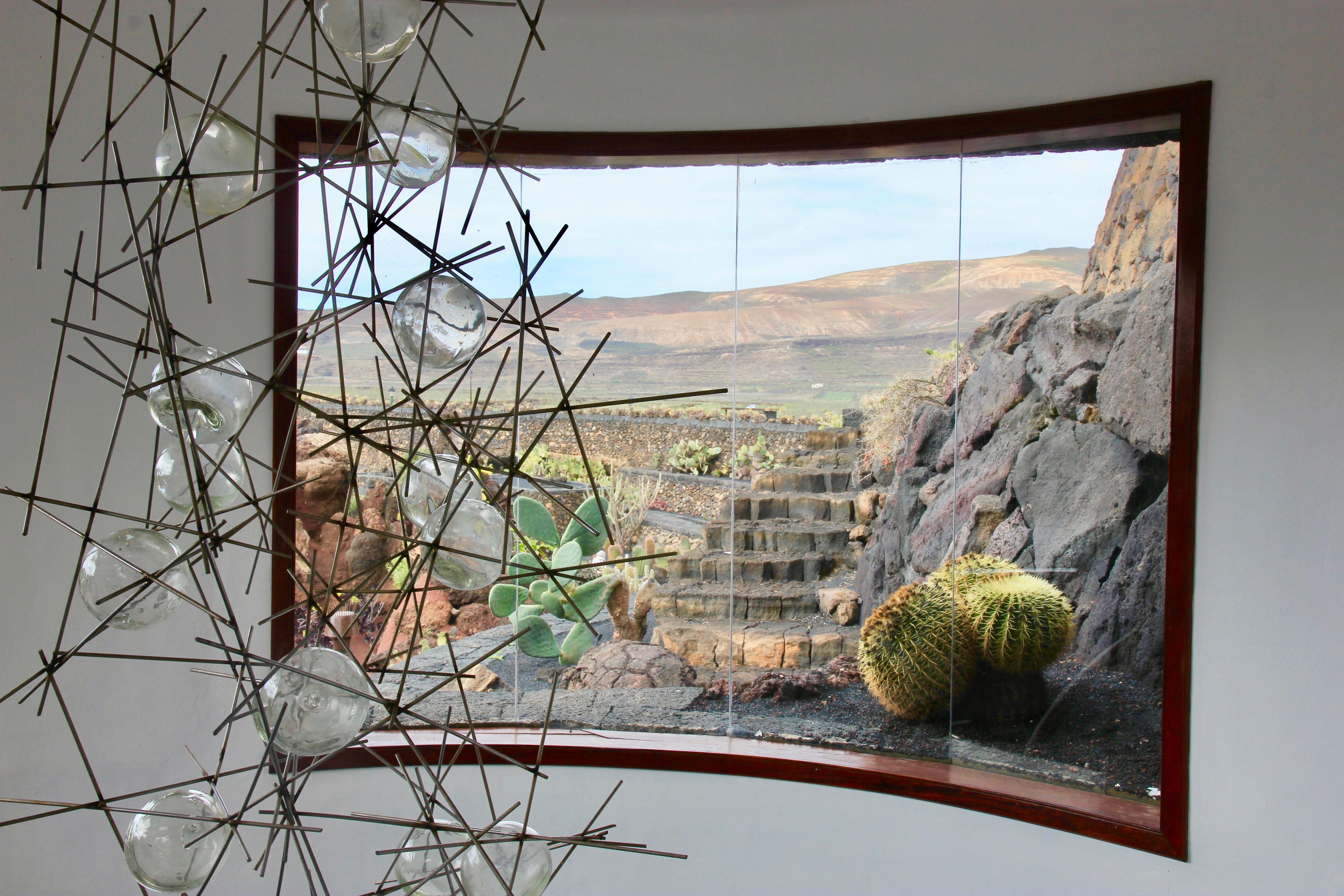 César Manrique - Jardín de Cactus