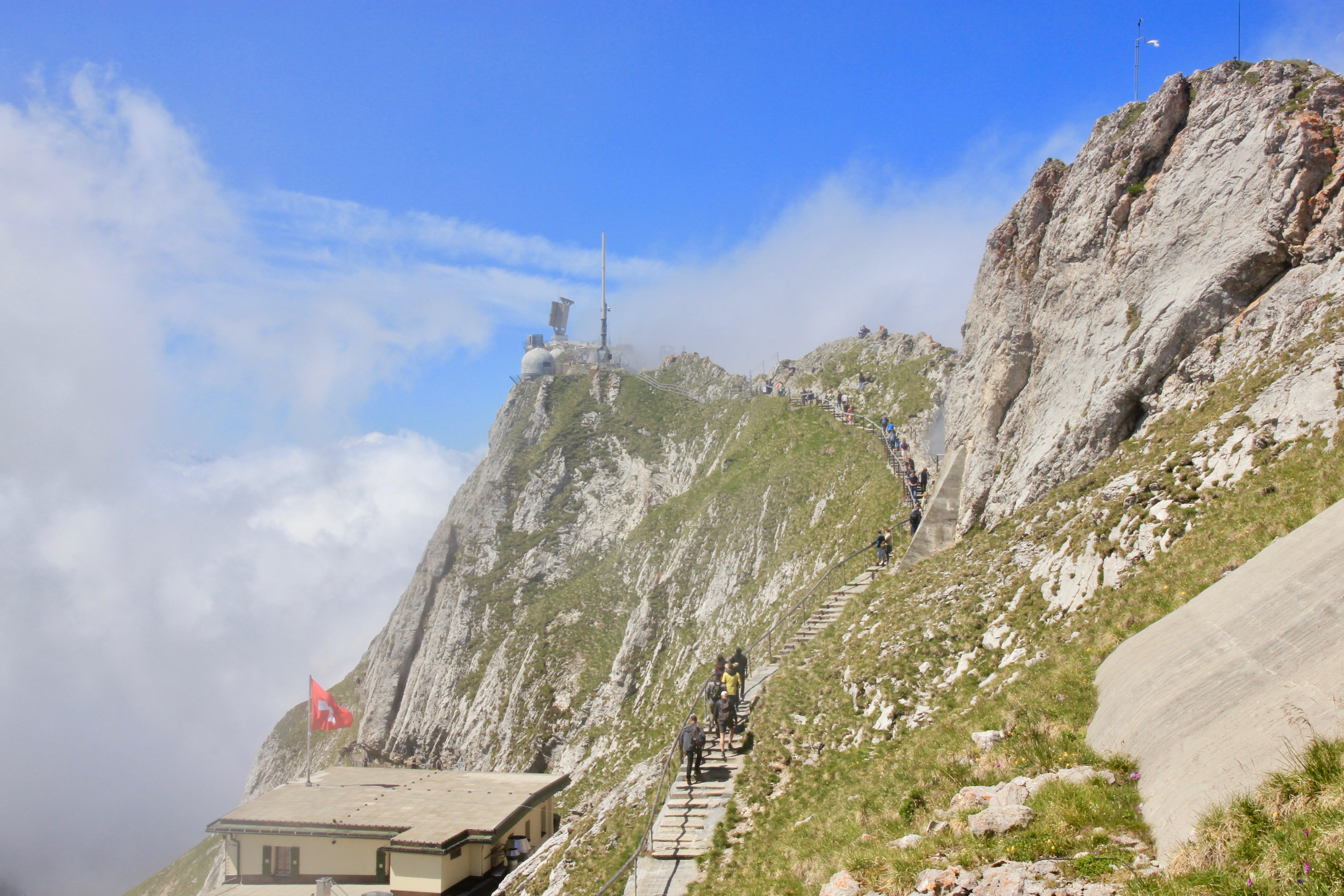 camminate al Monte Pilatus