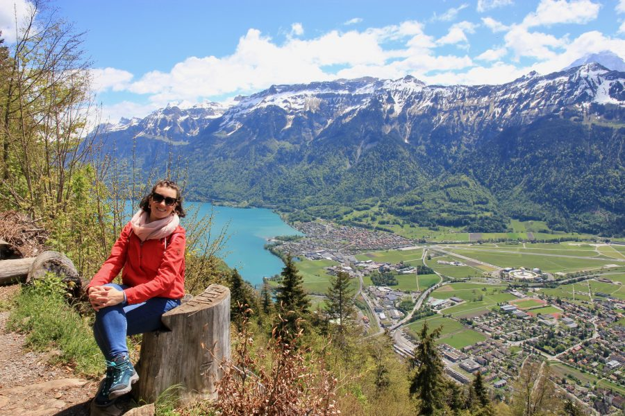 Belvedere di Harder Kulm a Interlaken